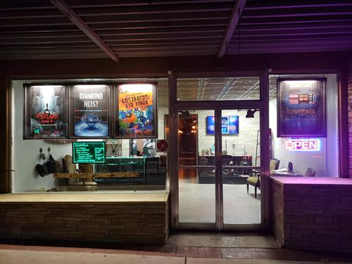 A view of our store front located at 207 N. Woodland Blvd.