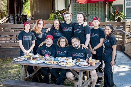 Chicas Cuban Cafe Owners and Staff