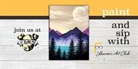 DIY Paint & Sip - The Blind Pig - Moon & Mountains