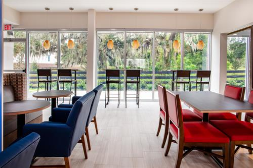 Beautiful spaces for dining or gathering