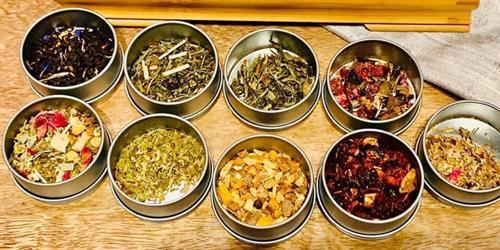Fine teas and tisanes
