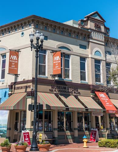 Museum of Art - DeLand Downtown, 100 N Woodland Blvd (photo credit:  Erika Rech)