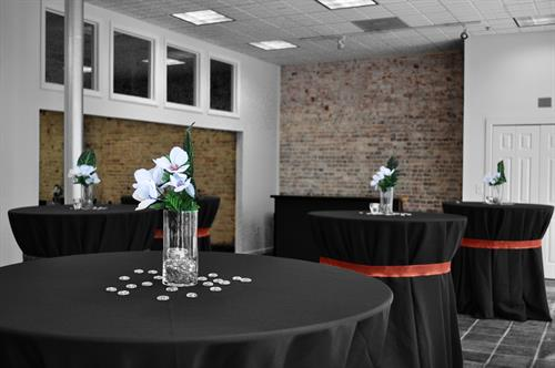 Event Space for your meeting, wedding, or holiday party