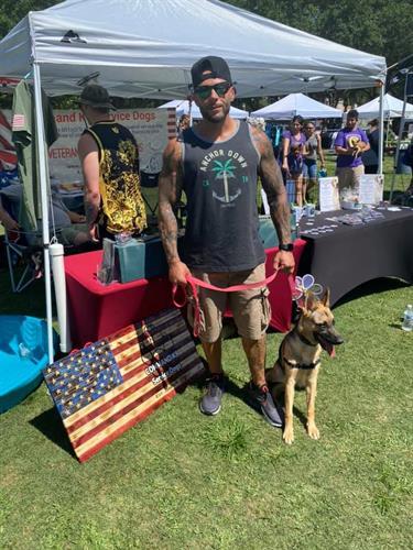 Veteran Service Dog Team