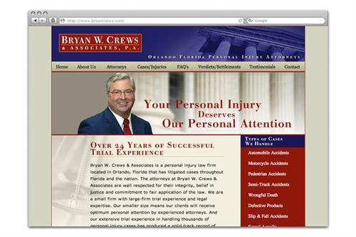 Trial Attorney Website