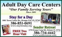 Sender Retreat Adult Activity Center - DeLand