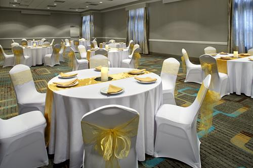 Meetings, Weddings or Special Events...  We can do it all in our 2000 SF of Event Space