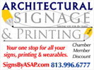 Architectural Signage & Printing