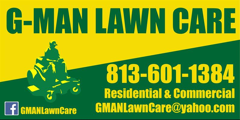 G-Man Lawn Care