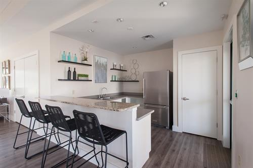 Amenity Center Kitchen