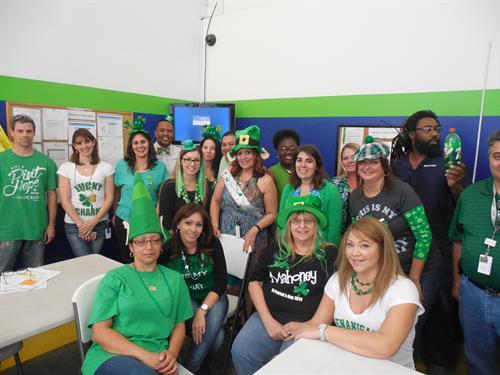 St Patricks - Wear Green Day