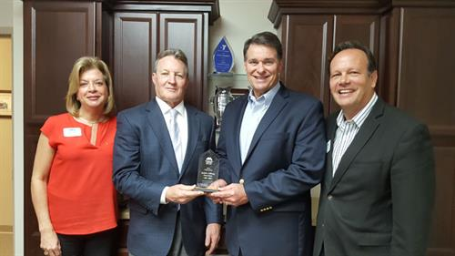Metropolitan Ministries Presents Unity Award to Berkshire Hathaway HomeServices Florida Properties Group