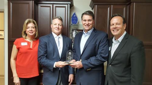 Metropolitan Ministries Presents Unity Award to Berkshire Hathaway HomeServices Florida Properties Group
