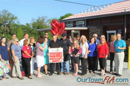 Hungry Harry's Barbeque Receives the Heart of Pasco Award, in Land O' Lakes