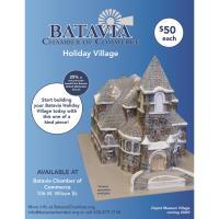 2019 Holiday Village Pieces: Batavia United Methodist Church