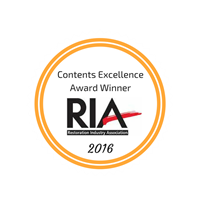 2016 RIA Contents Excellence Award Winner