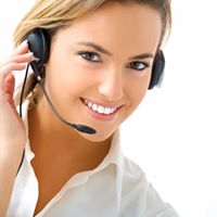 HAPPY CUSTOMER SERVICE REPRESENTATIVE'S AVAILABLE 24/7