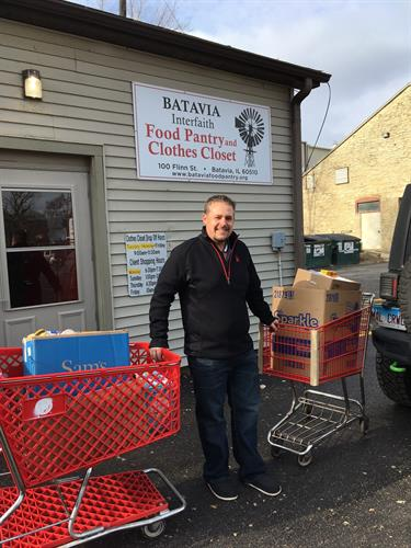 2018 Food Drive with Batavia Interfaith Food Pantry