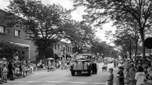 4th of July Parade Circa 1950