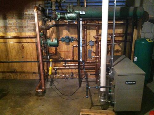 Boiler Mid Install