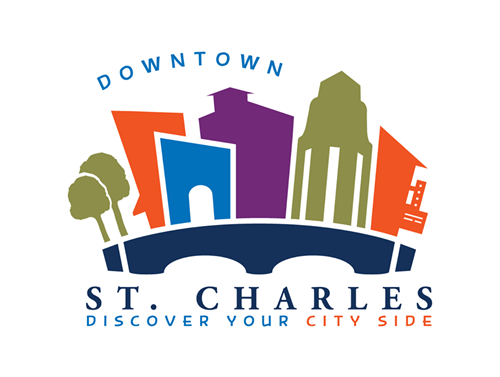 Vision Force Marketing created the new Downtown St. Charles Logo