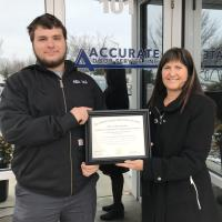 New Apprenticeship Training Program Debuts at A Accurate Door Service, Inc.