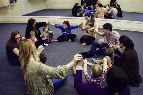 Music Together classes are a community of parents and children enjoying special time !