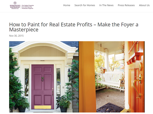 Berkshire Hathaway features MDF on their blog!