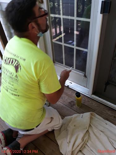 Repairing and caulking by hand means MDF has great attention to detail!