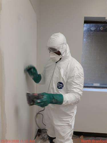 MDF painters take safety and sanitation seriously!