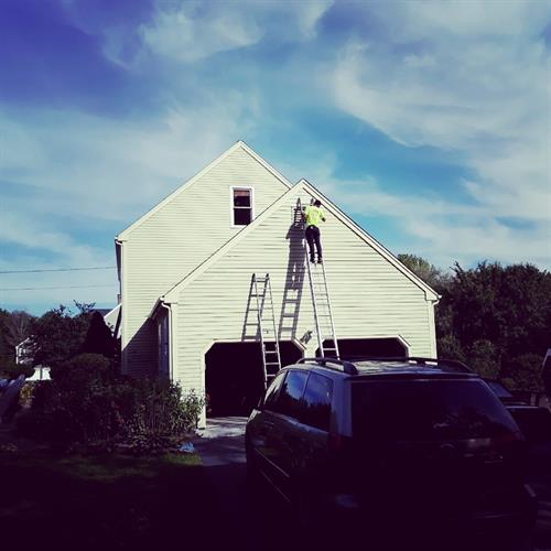 Painting the homes and the sky throughout Connecticut!