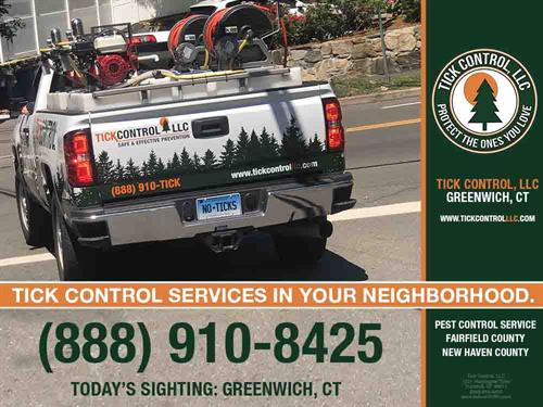 TICK CONTROL SERVICES IN YOUR NEIGHBORHOOD.