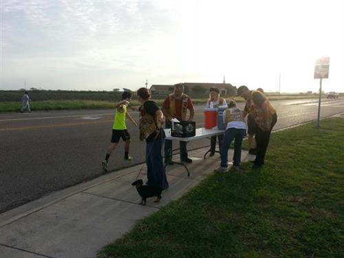 2012 Miles for Meals Water Station