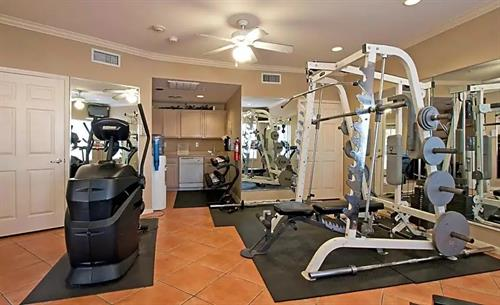 State-of-the-art fitness centers