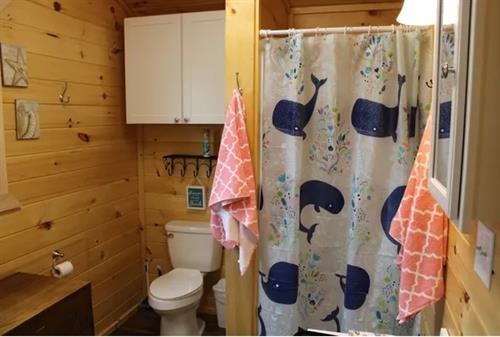 Cottage #2 bathroom