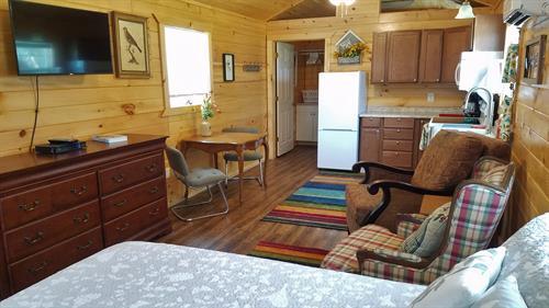 Cottage #5 interior
