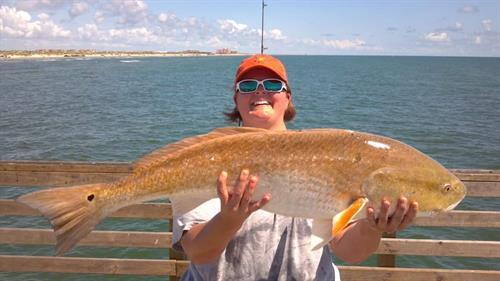 Kim Loves Fishing Too