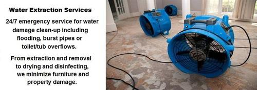 24/7 Water Extraction Services