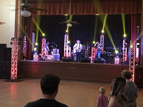 Eddy Raven Band in Goliad