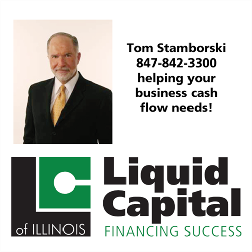 Tom Stamborski helping your business cash flow needs.