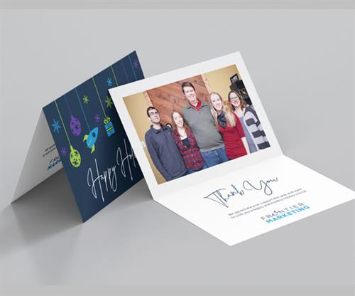 Holiday Card by Frontier Marketing