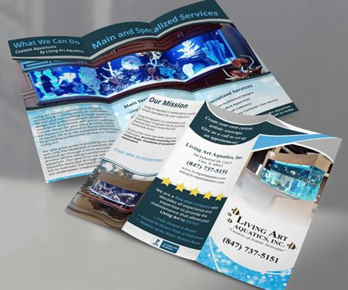 Trifold Brochure created by Frontier Marketing