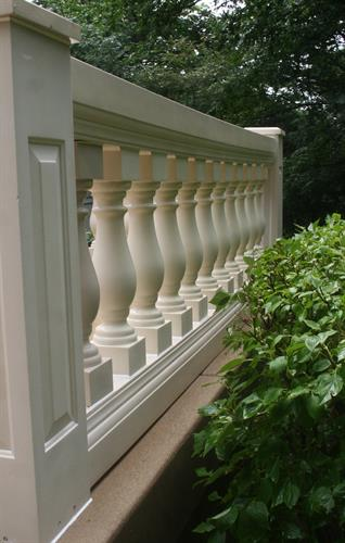 Architectural railing - After
