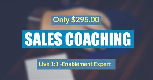 Sales Coaching 1:1 Individual