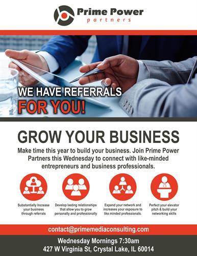Prime Media Consulting Presents: Prime Power Partners - Jan