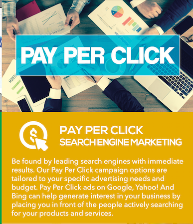 Pay Per Click (Search Engine Marketing) Services