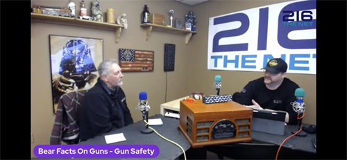Chamber Member Derek Baer hosts Bear Facts on Guns