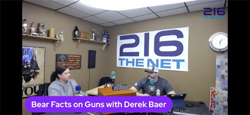 Bear Facts on Guns with host Derek Bear