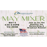 Monthly Mixer Sponsored by Pulido Cleaning & Restoration
