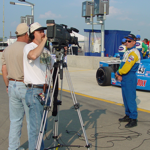 On location in Kentucky filming infomercial for a automotive product